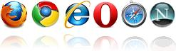 Tested with Firefox, Chrome, IE, Opera Safari and Netscape