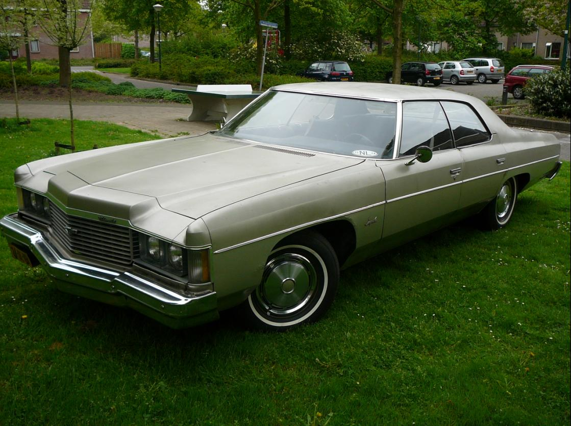 This Used To Be My 1974 Chevrolet Impala 4dr Sport Sedan